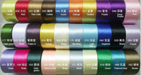Wholesale 50mm Polyester Sash Ribbons yards DIY Hometextile Assorted Color Satin Ribbon