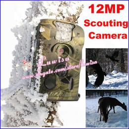 Wholesale Little Acorn Mms Camera - Ltl Acorn 5210MMS LTL-5210MMS Ltl-5210MM 940nm Camo 12MP MMS Wireless Cellular Low Glow Trail Camera