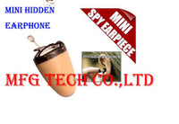 Wholesale Wireless Invisible Earpiece Mini Earpiece GSM Micro Hidden Earphone