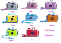 Wholesale LOMO Camera Film Camera Waterproof Camera mm Camera Underwater meters Colorful and Eay to use