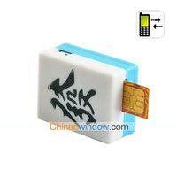 Cheap Mahjong Tracking GSM Quad Band Monitor (Calls, SMS Control) 10pcs