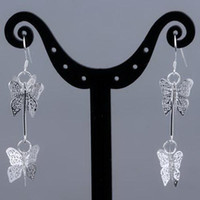 Silver South American Women's 925 Silver earring NEW Fashion Lowest price>Mix order,Dangle & Chandelier Earring PE-014