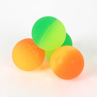 Wholesale Bouncing ball Color matte elastic ball