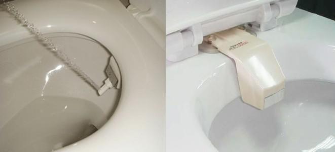 2017 new non electric toilet smart bidet with multiple holes sliding retractable nozzle screw. Black Bedroom Furniture Sets. Home Design Ideas