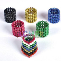 Wholesale 216 Buckyballs Bucky balls mm Magnetic balls colorful green red black blue NEW retail box