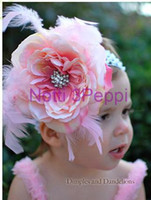 notti 3 peppi - notti peppi fashion head band baby hair band flower head dress hair Pink Floral accessory A15