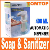 Wholesale 400ml automatic sensor hand free soap amp Sanitizer dispenser H938