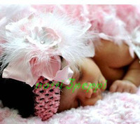 Wholesale notti peppi fashion head band baby hair band flower head dress hair accessory B23