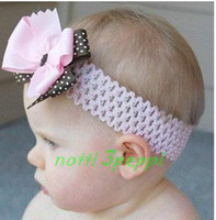 Wholesale notti peppi fashion head band baby hair band flower head dress hair accessory B26