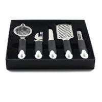 Wholesale 5 Stainless Steel Kitchen Tools Kit for Housewives