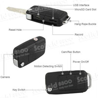 Wholesale Latest Portable Mini Car Key DVR S818 Spy Camera DV Digital Video Recorder MP MP4 AVI USB Cable