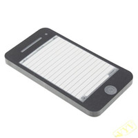 note pad printing - Fashionable Imitated iPhone G SMS Face Writing Memopad Memo Pads Notepad Sheet for Home amp Office