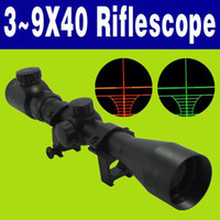 Freeshipping 3~9X40 G& R Illuminated RIFLESCOPE HUNTING R...