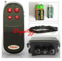 Wholesale REMOTE CONTROL DOG TRAINING SHOCK COLLAR IN