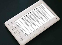 Wholesale 7inch ebook with GB memory Pixels screen ebook reader mAh battery P mp4 function hot selling from coolcity2012