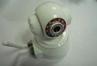 Wholesale HKEMS FREESHIP Wireless IP WiFi Internet Pan Tilt PTZ Dual Audio Camera Cam Factory DropShipping