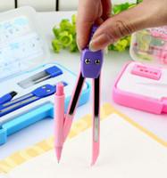 Wholesale Professional stationery Store geometric drawing Stationery set compass ruler eraser refills Protra