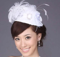 Wholesale Bridal Wedding Veil Hair Jewelry Bridal Tiaras Hair Ornament Head Flower Headwear royal top hat