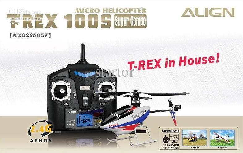 Promotion Align Trex Kx022005 Rtf Rc Helicopter T Rex 100s ...