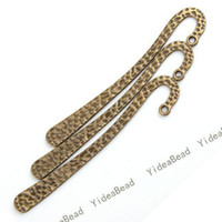 Wholesale 60x Hot Sale Antique Bronze Tone Beading Bookmarks With Loop Design Fit Jewelry Accessories