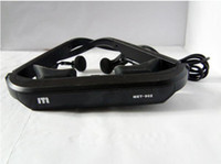 Wholesale 2011 fashion inches screen HD Video Glasses MET video glasses eyewear for Home Theater