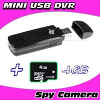 Wholesale new U disk HD mini dvr A8 hidden spy camera DV Video Recorder DVR GB
