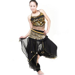 Wholesale C9180106 women belly dance skirt costume New Belly Dance Flared Costume Pants