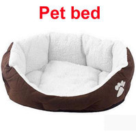 Wholesale Comfortable warm and lovely Dog Pet Bed House Size M