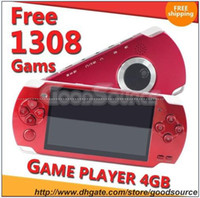 "4.3 inch No 4GB Free DHL + 4GB 4.3"" LCD MP5 Game Player + Free 1308 Games MP3 MP4 MP5 Camera FM TV OUT Video Gift 2p"