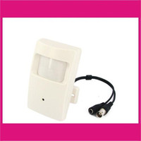 Wholesale CCTV PIR Camera Hidden Pinhole Camera Motion Detector inch SONYi CCD TVL LH e_shop2008