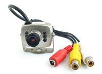 Wholesale Mini Spy Color Camera Security CCTV Video Camera inch CMOS IR KED TV Line MN208 e_shop2008