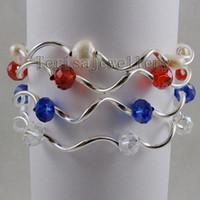 Wholesale Factory A1210 Girl Woman s Bracelet Pearl Crystal Fashion Jewelry Bracelet