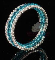 bead stretchy bracelet bangle - Bridal jewelry beaded bracelet bangle rhinestone bracelet stretchy bangle