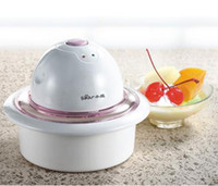 Wholesale DIY Mini Household IceCream Machine home use ice cream maker household small size ice cream maker