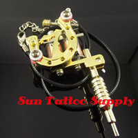 Wholesale Fashion mini tattoo machine pendant tattoo gun pendant for tattoo artist