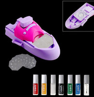 beads nail polishes - 20 nail printing machine stamping machine DIY polish Nail art best price