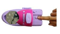 DIY uñas máquina de sellado de la impresión del arte del clavo del esmalte de mejor precio