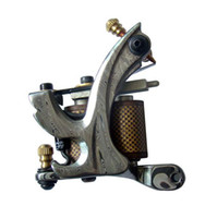 Wholesale 2011 hot sell low price handmade new arrival liner amp shader Damascus Steel tattoo machines guns