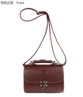 Wholesale Fashion Women Lady Retro Vintage Tote Handbag Purse Shoulder Messenger Aslant School Bag Gripe Sack