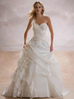 Wholesale suibian New Bridal Gown Size New Stunning Wedding Dress D AS00401