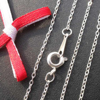Wholesale DIY jewelry accessories Hot and retail silver plated chain NS10227 x1 mm