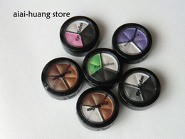Wholesale 10g colors Eye Shadows with Brush Freeshipping Flashlight Makeup Bling Shadow Glitter Shadows