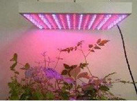 Red & Blue 90W Square 225 LED Hydroponic Plant Grow Light Panel Red Blue faster growing blooming plants Grow Lights
