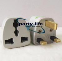 Universal AU EU US to UK AC Plug Adapter Travel Converter, 20...