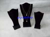 Wholesale Hot Sale Black Necklace Pendant Jewelry Display Stands
