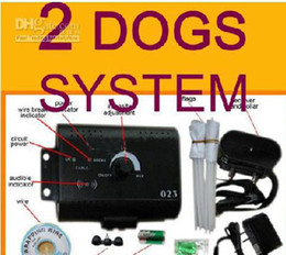 China inalámbrica inteligente en venta-El nuevo sistema sin hilos del esgrima del animal doméstico para el perrito elegante de la En-tierra del perro de 2 PERROS que cercaba de China fábrica 6PCS