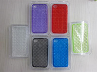iPhone 4 PU Shiny PU skin cell phone cover case for iphone 4G phone4 fashion mix order Free shipping