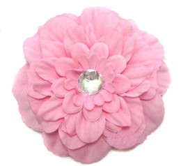 Wholesale 800pcs peony Gerber Peony baby hair bows Children s clip girl flowers band GHSFDSvcbfrthgfy