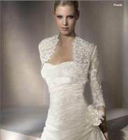 Wholesale 2011 arrival Hot Designer Wedding Dress sexy Gown Dresses lace Bridal Wraps Jackets shawl cape