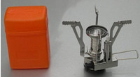 Cookware stainless steel cookware - Mini quot Gas Powered Butane Propane Picnic Camping Stove